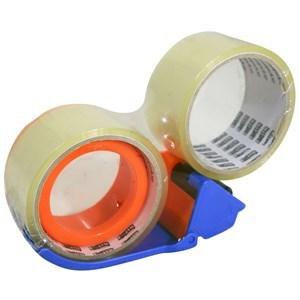 Imagen de Cinta de empaque Matpack 30ys x45mm, PACK x2 rollos, con dispensador