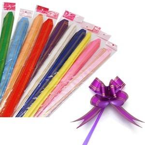 Imagen de Moñitas para armar grandes 48x3.2cm, paquete x200, varios colores