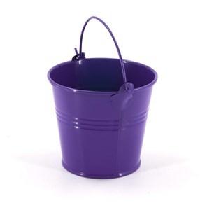 Imagen de Maceta balde de lata, chica, varios colores