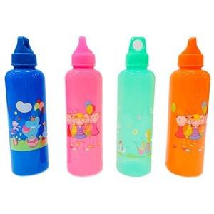 Imagen de Botella de plástico, con diseño infantil, 750ml, varios colores