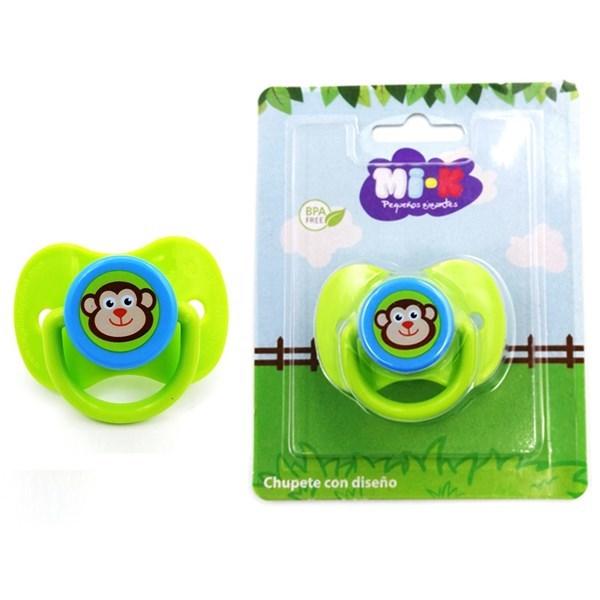 Imagen de Chupete con diseño, en blister, MI-K, 4 modelos