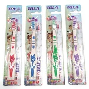 Imagen de Cepillo de dientes para niño, flexible, en blister, CAJA x12