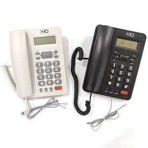 Imagen de Teléfono con display, identificador de llamadas, manos libres, volumen ajustable, 2 colores