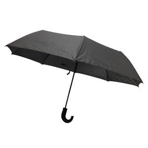 Imagen de Paraguas corto automático, 8 varillas, negro