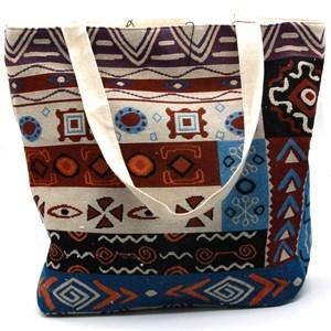 Imagen de Cartera bolso de tela, con cierre, varios diseños