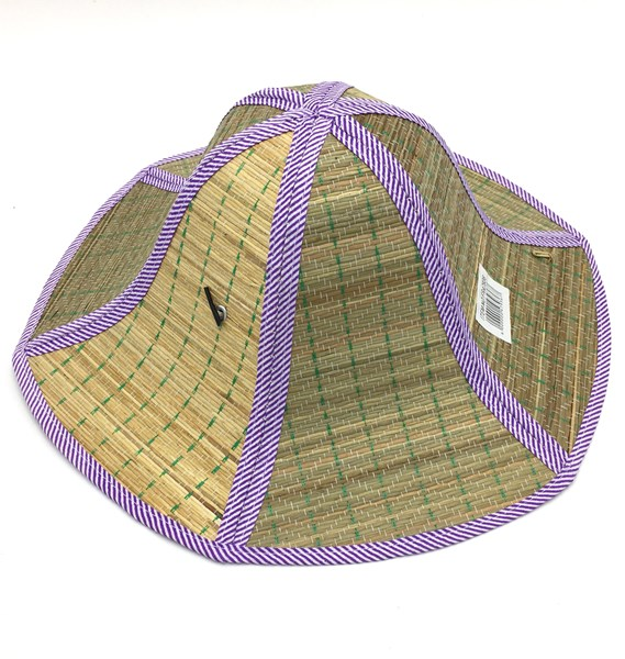 Imagen de Sombrero de dama, plegable, de fibras naturales
