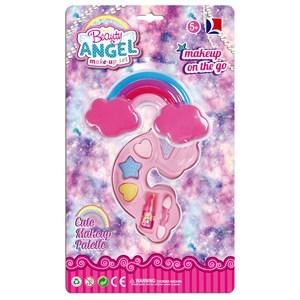 Imagen de Maquillaje infantil, petaca arco iris, en blister, Beauty Angel autorizado MSP
