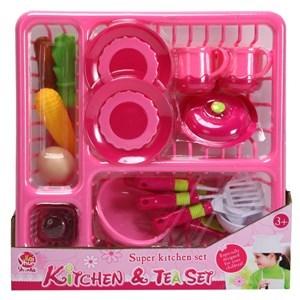 Imagen de Set de cocina con escurridor, en bolsa de PVC