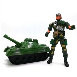 Imagen de Soldado con tanque a fricción, en bolsa