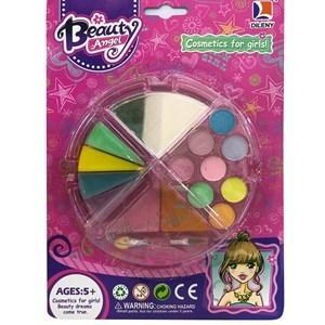 Imagen de Maquillaje infantil, petaca triángulos, en blister, Beauty Angel autorizado MSP