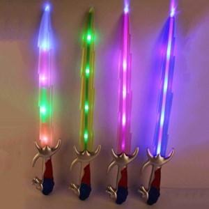 Imagen de Espada con luz y sonido, 3AA, en bolsa, varios colores