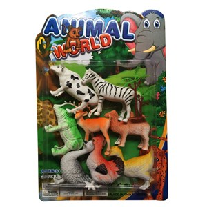 Imagen de Animales surtidos x8, en blister