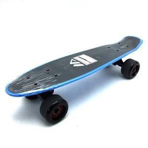 Imagen de Skate de plástico penny, superficie antideslizante, ruedas trucks de metal, varios colores