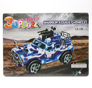 Imagen de Puzzle de cartón 3D, varios diseños