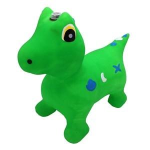 Imagen de Inflable saltarín dinosaurio con luz y sonido, 1600g, varios colores