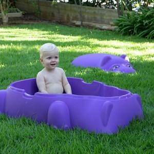 Imagen de Arenero piscina STARPLAY, con tapa, 2 colores