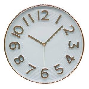 Imagen de Reloj de pared, 30cm de diámetro 2 colores, en caja