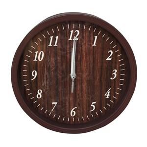 Imagen de Reloj de pared, 25cm de diámetro 2 colores, en caja