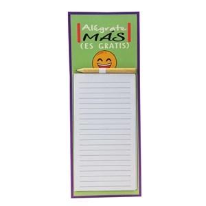 Imagen de Block x40 hojas chicas con lápiz, con imám, PACK x12, varios diseños