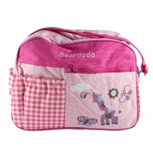 Imagen de Bolso maternal de tela, con 4 bolsillos y cambiador.