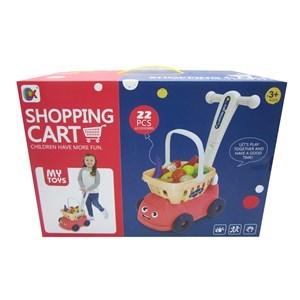 Imagen de Carrito de supermercado, caminador, con accesorios, en caja