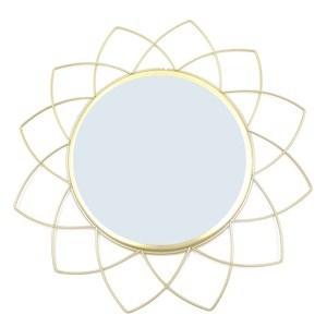 Imagen de Espejo decorativo, marco de metal, en caja