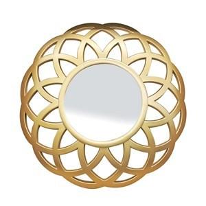 Imagen de Espejo decorativo 13cm, marco de plástico diámetro 25cm, en caja