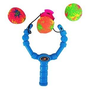 Imagen de Lanza pelotas de agua, con 3 pelotas, en red