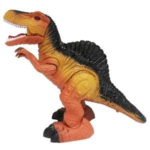 Imagen de Dinosaurio tiranosaurio con luz sonido y movimiento, 2AA, en caja