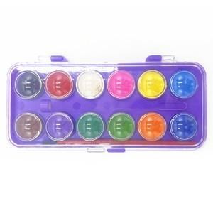 Imagen de Acuarelas 12 colores con pincel, PACK x12
