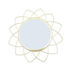 Imagen de Espejo decorativo 25cm, marco de metal diámetro 40cm, en caja