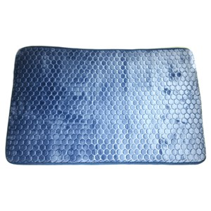 Imagen de Alfombra para baño, con antideslizante, GRIS