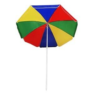 Imagen de Sombrilla de nylon multicolor