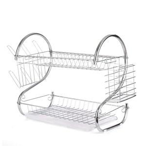 Imagen de Escurridor de platos de metal, 2 pisos, en caja