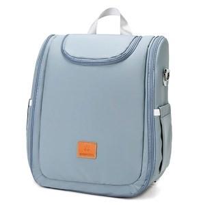 Imagen de Bolso mochila maternal con 2 asas, compartimento interior  con bolsillos, se hace cuna, varios colores