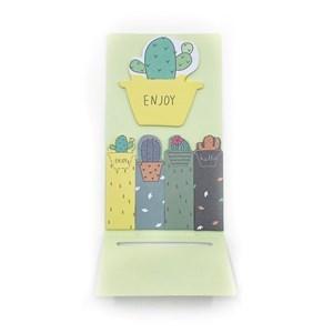 Imagen de Señaladores y block de hojas autoadhesivas, con diseño
