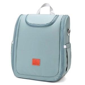Imagen de Bolso mochila maternal, se hace cuna, cambiador y mochila adicional con divisiones, VERDE