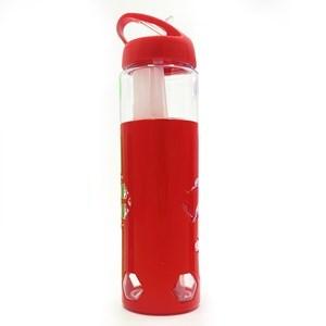 Imagen de Botella deportiva con sorbito retráctil, 700ml, con porta hielo,varios colores