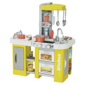 Imagen de Electrodomésticos cocina con estantes, pileta con luz y sonido 3AA, 53 piezas en caja