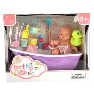 Imagen de Bebote con bañera, con luz y sonido, 4AA en caja