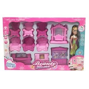 Imagen de Muebles para muñeca, en caja