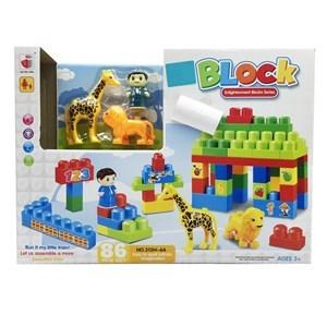 Imagen de Blocks x86 piezas de plástico medianas, en caja