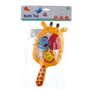 Imagen de Juguetes para bañera de goma, 4 piezas, en bolsa