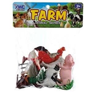 Imagen de Animales de granja x6, en bolsa