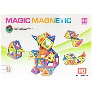 Imagen de Blocks 68 piezas magnéticos, en caja
