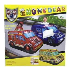 Imagen de Casita carpa para niños, ómnibus de PVC, en caja