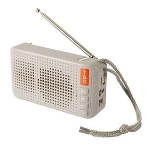 Imagen de Parlante radio TG184 con panel solar linterna,BT5.0 USB, micro SD, T&G, en caja