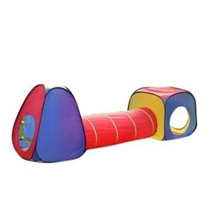 Imagen de Casita carpa para niños, túnel PVC, en caja