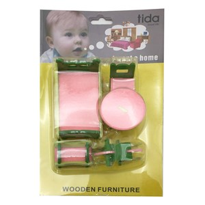 Imagen de Muebles para muñecas de madera, en blister
