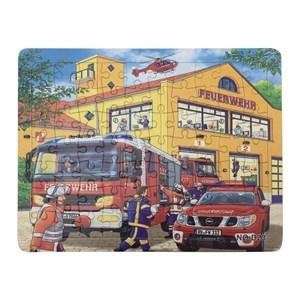 Imagen de Puzzle de cartón 70piezas, modelos máquinas, en bolsa